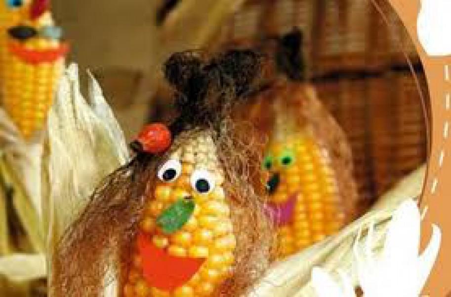 Поделки кукурузы своими руками